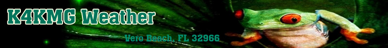 K4KMGWeather.com - Vero Beach FL
